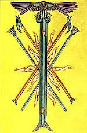 The Five of Wands